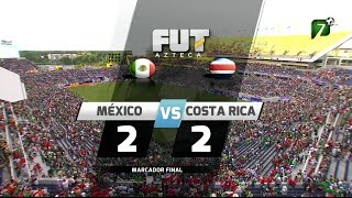 Resumen - México 2-2 Costa Rica - Amistoso