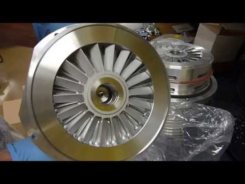 Thermo Exactive Orbitrap Service & Repair Part 2 __main turbo service continued