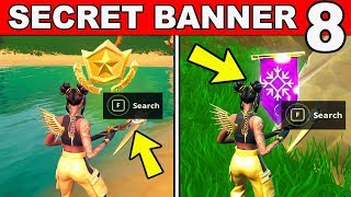 SECRET BATTLE STAR WEEK 8 SEASON 8 LOCATION Loading Screen Fortnite - WEEK 8 SECRET BANNER REPLACED