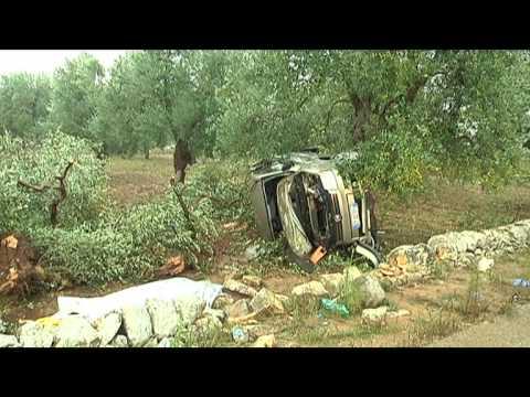 INCIDENTE MORTALE SULLA SP 83 ADELFIA-ACQUAVIVA DELLE FONTI (BA)