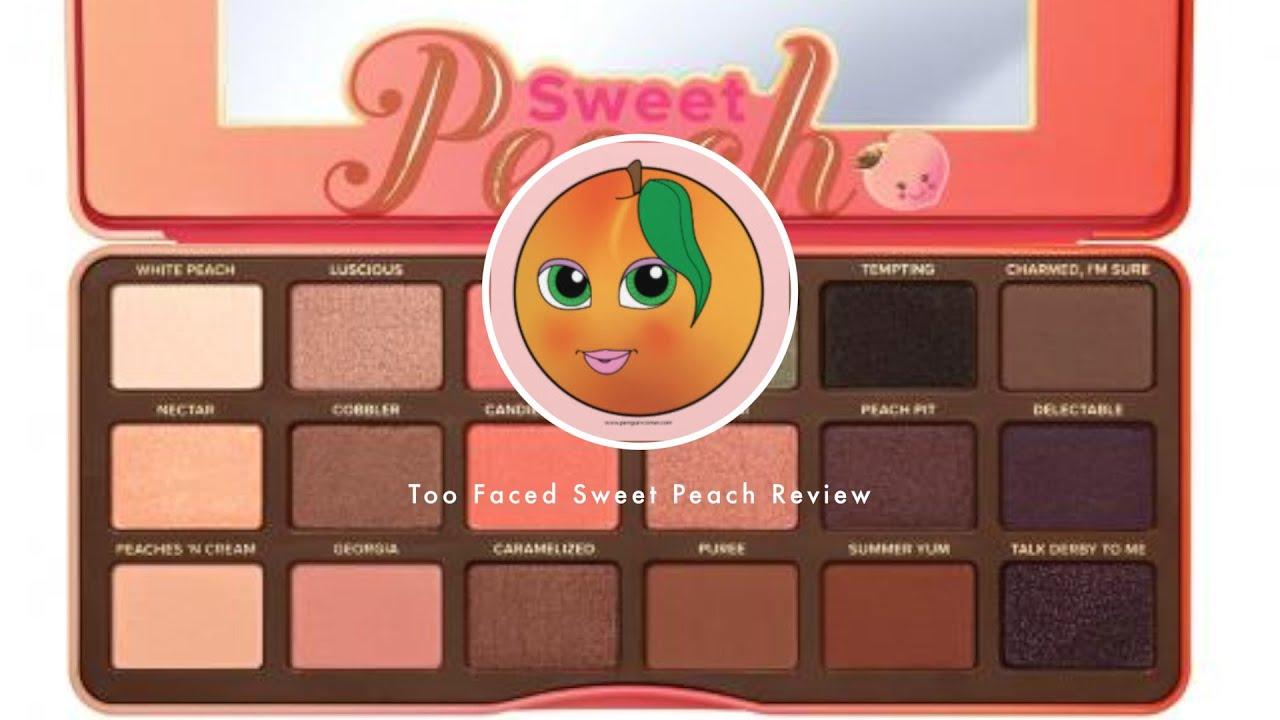 sweet peach palette # 8