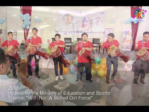 International Day of the Girl Child celebration in Lao PDR (2016-2019 highlights)