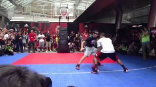 Derrick Rose in Japan - vs 3x3 Japanese Players