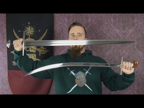 A talk about different blade shapes of swords and their effectiveness