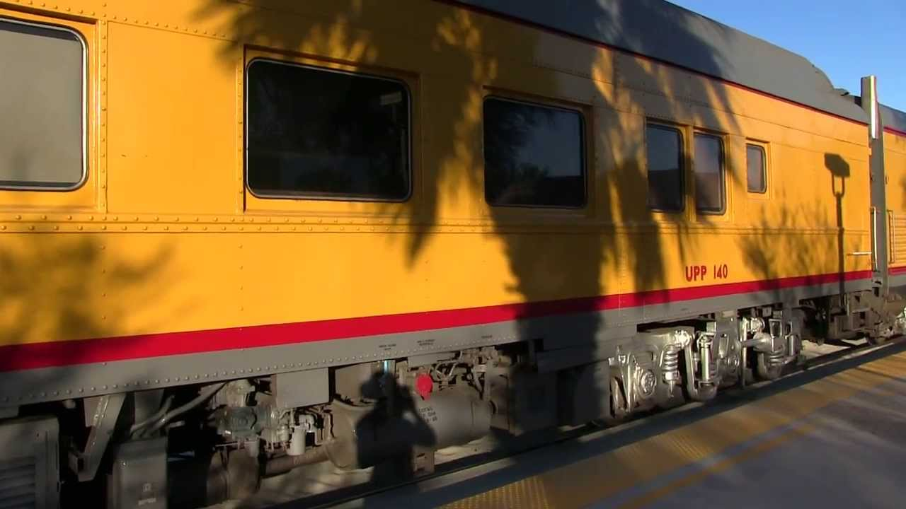 A Close Up Look At A Union Pacific Office Car Special At West Palm