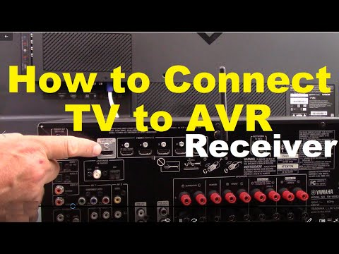 How to Connect a TV to AVR surround sound Receiver from YouTube · Duration:  10 minutes 7 seconds