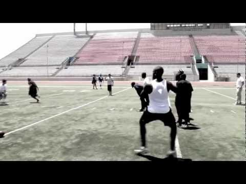 Ohio University QB Theo Scott Throwing Session