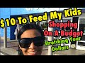 $10 Budget For Groceries - (MUST WATCH) Single Parents-College Students-Tight Budgets