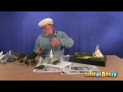 How To Build an American Indian Diorama (Part 2)  School