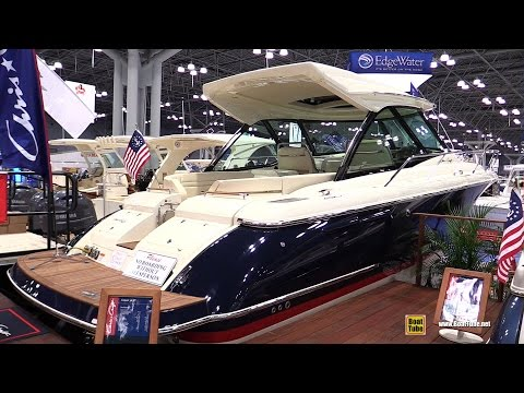 2015 Chris-Craft Corsar 36 HT Heritage Edition Motor Boat - Walkaround - 2015 New York Boat Show