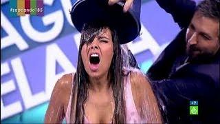 Cristina Pedroche se moja con el  #IceBucketChallenge en