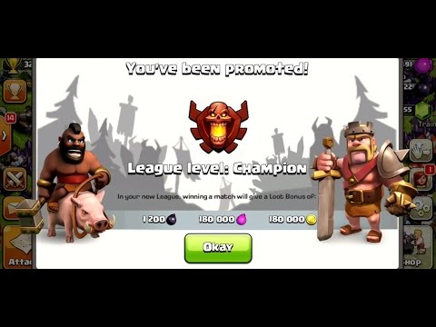 ALL DRAGONS TO CHAMPION | Clash Of Clans | TIME FOR REVENGE