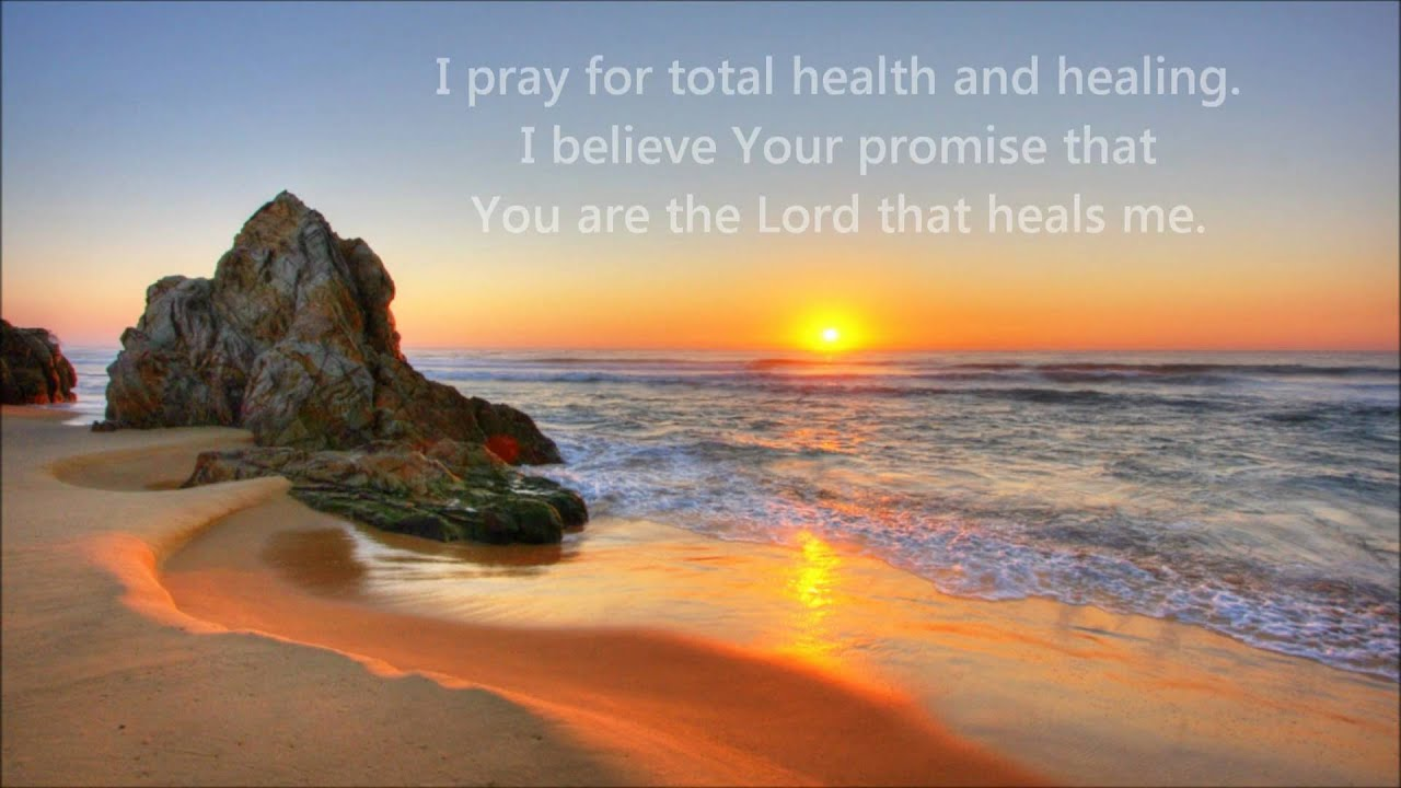 Prayer CD  Positive Prayers for Your Health and Healing