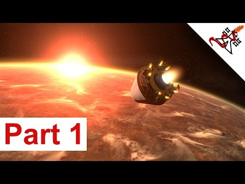 Let's Play Planetbase MARS Part 1 - THE BEGINNING