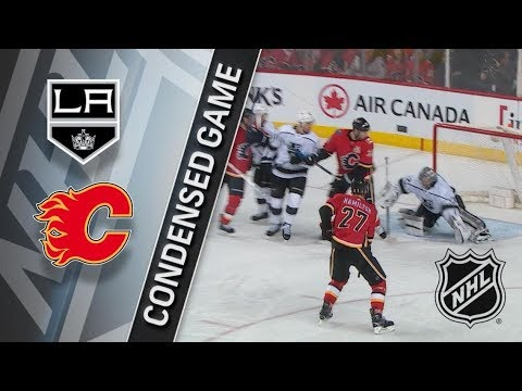 Los Angeles Kings vs Calgary Flames – Jan. 04, 2018 | Game Highlights | NHL 2017/18. Обзор матча