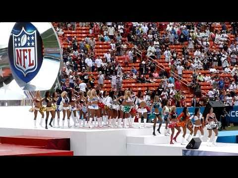 Pro Bowl 2011 Cheerleader Introductions