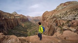 Hiking Canyon Overlook Trail - Zion National Park