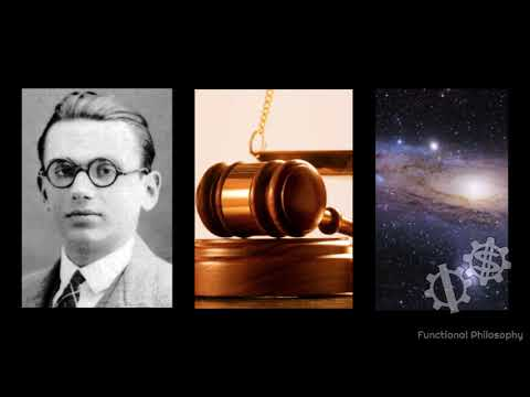 Godel's Incompleteness Theorem, Justice, and Eternity vs. Infinity (Functional Philosophy #45)