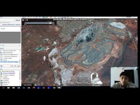 Sebastian Prieto - cartografia  mina de oro -1984-2016