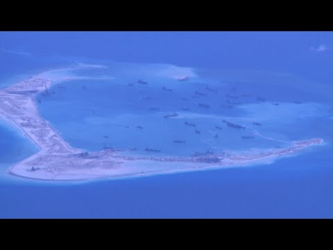 U.S. watching China's island build-up