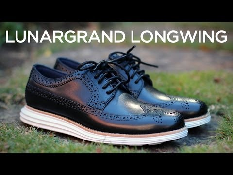 Quick Look: Cole Haan LunarGrand Longwing - Black/White