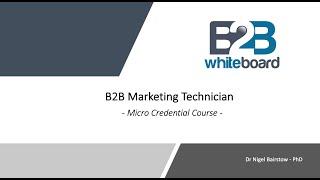 B2B Marketing Technician - Mic…