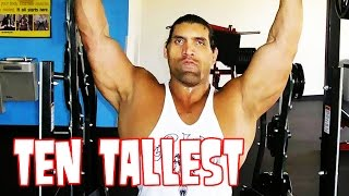 10 Tallest Wrestlers of All Time! Great Khali, Andre the Giant, Giant Gonzalez