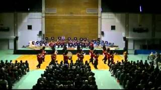 Coldstream Guards 2013 Obihiro Gym Verdi
