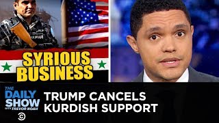 Trump Withdraws Troops from Syria | The Daily Show