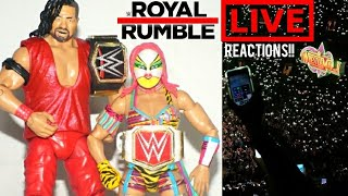 THE ROYAL RUMBLE WAS AWESOME (Live Reactions × REVIEW)