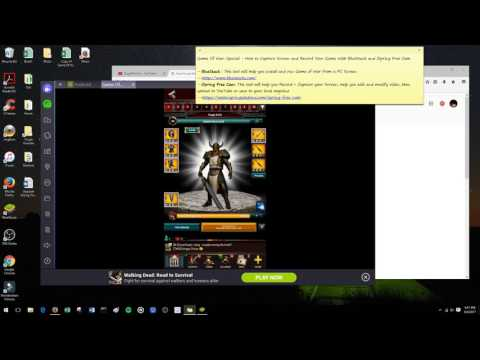 How to Capture PC Screen & Record Game (BlueStack & iSpring Free Cam)