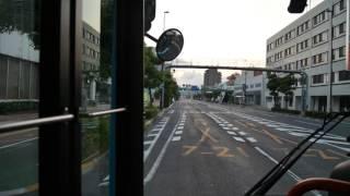 【前面展望】高松駅前~大学病院~ことでん高田駅【ことでんバス・75系統】