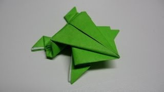 Origami Jumping Frog Easy.(full Hd)