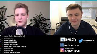 Interview with Dan Larimer - EOS, Cardano, Ethereum, DPoS, Steemit, Crypto Bubble, Future of Crypto