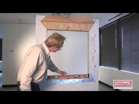 New Construction, Single Hung Vinyl Window Installation Instructions