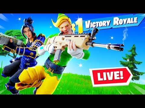 Duo Fortnite Tournament FINALS w/Chanzes *LIVE* thumbnail