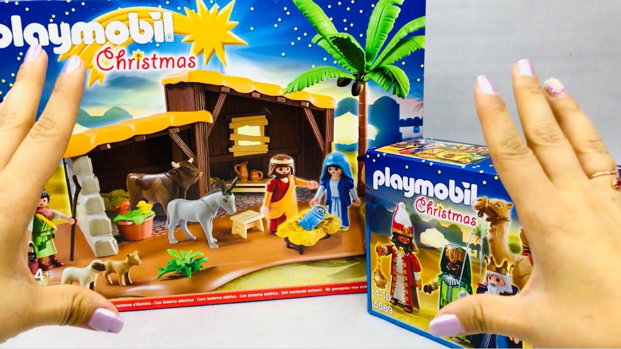 befafbfd64b Playmobil Nacimiento Portal de Belen con Pesebre ☆ juegos juguetes ...