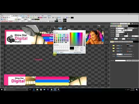 How to create banner advertisement in TitleCaster (Hindi) - Youtube