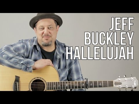 How To Play Jeff Buckley - Hallelujah