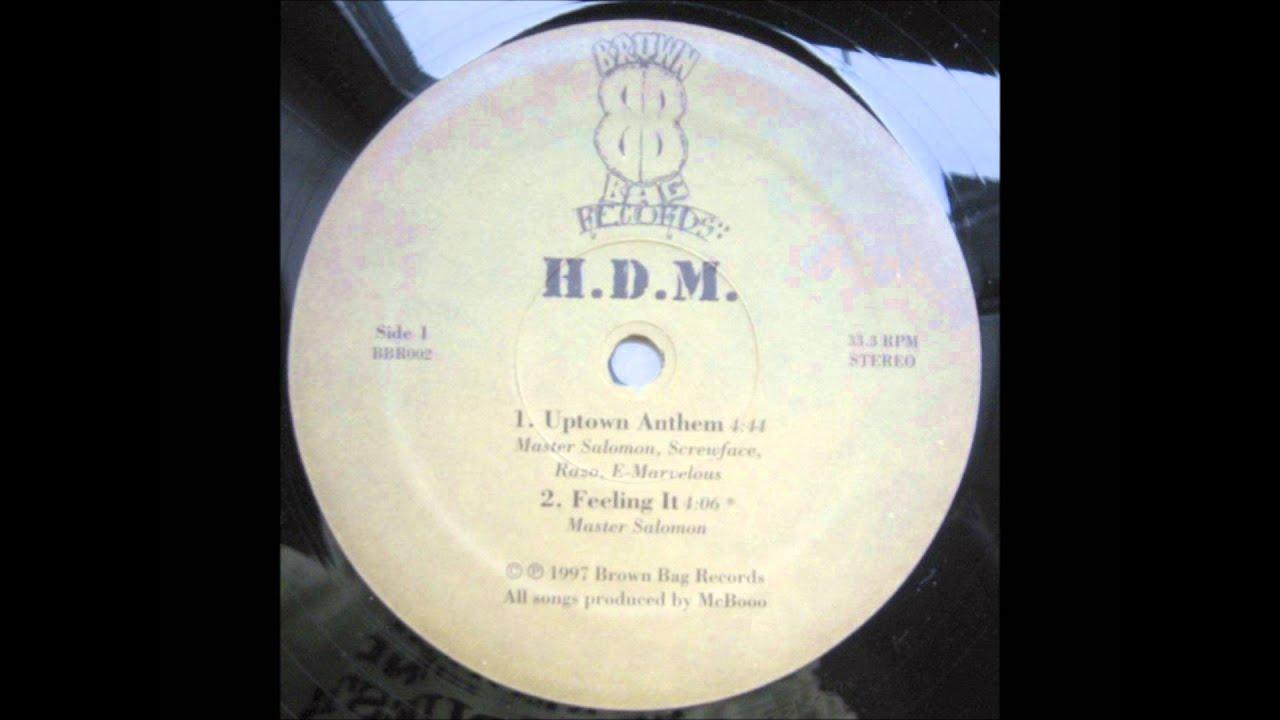 H.D.M.   Uptown Anthem