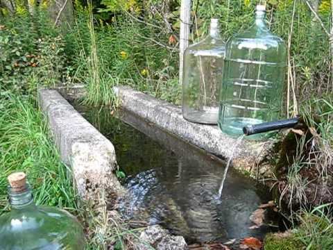 Natural Spring Water Ph