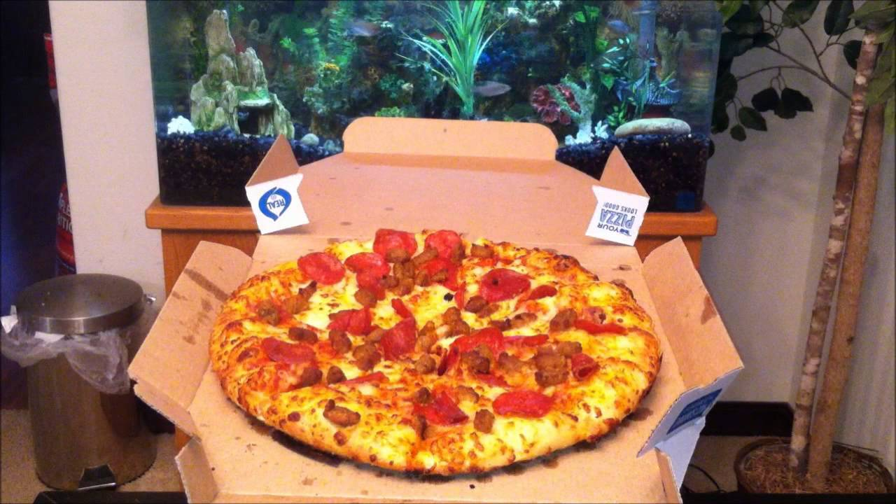 Domino S Sausage Amp Pepperoni Personal Pan Pizza Review