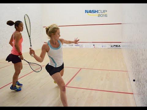 Best Squash Match Ever! - Nash Cup 2016 - Woman's Final - Letourneau vs Kobayashi