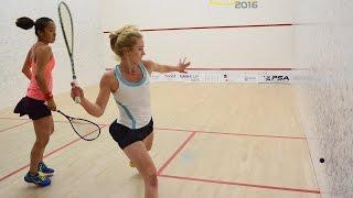 Best Squash Match Ever! - Nash Cup 2016 - Woman\'s Final - Letourneau vs Kobayashi