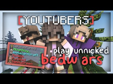What Happens When Three Bedwars Youtubers Play Unnicked