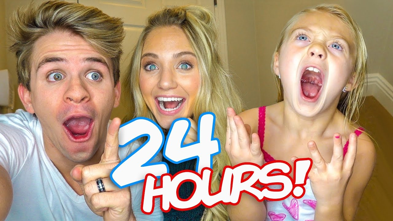 Everleigh Says YES to EVERYTHING we say for 24 Hours!!! (Hilarious Public Dares) image