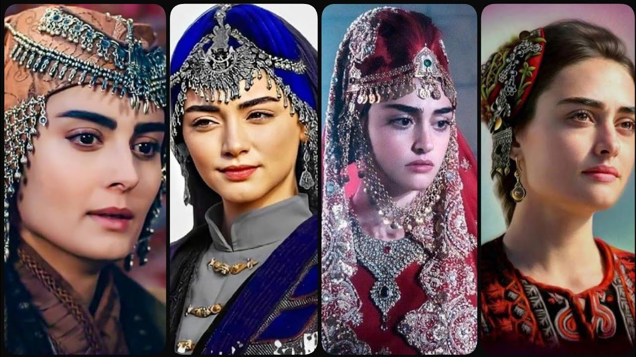 Ertugrul Ghazi Drama #Halima Sultan Dressing & Jewelry designs