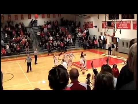 Central women's basketball double buzzer-beater - YouTube