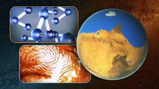 UN MARE COME IL MEDITERRANEO SU MARTE - MARS ANCIENT OCEAN