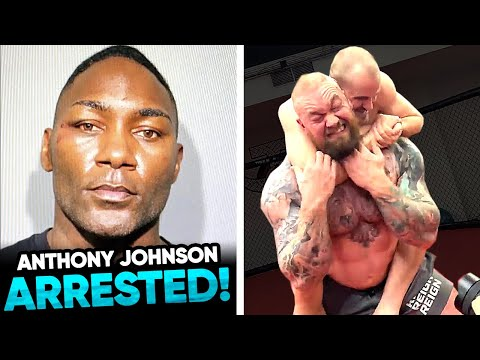 Anthony Johnson ARRESTED for IDENTITY THEFT! Gunnar Nelson SUBMITS The Mountain, Dana White says Sti